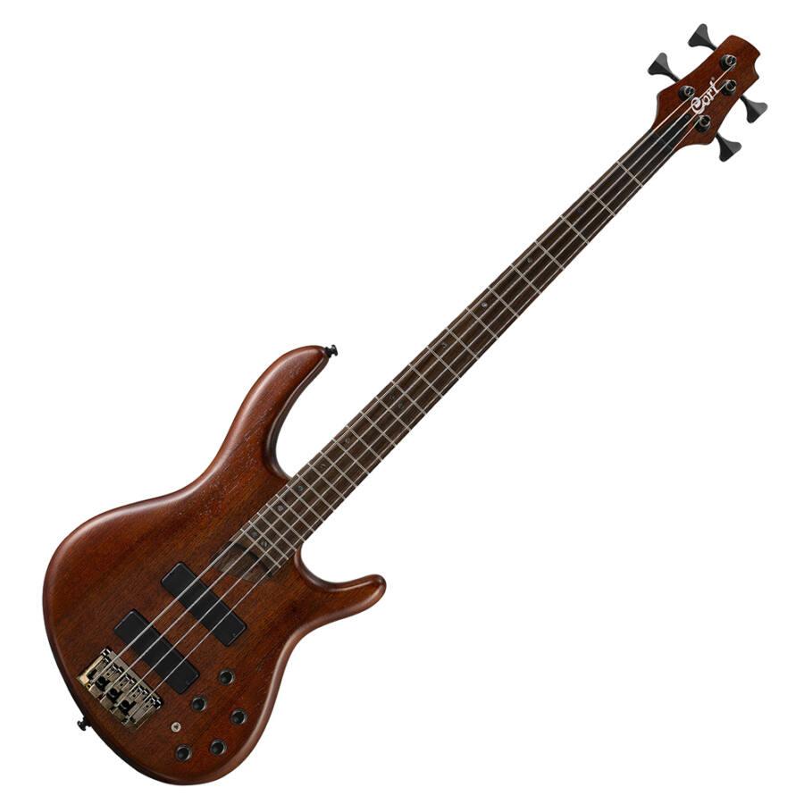 Cort - B4Plus-MH Artisan elektromos basszusgitár mahagóni
