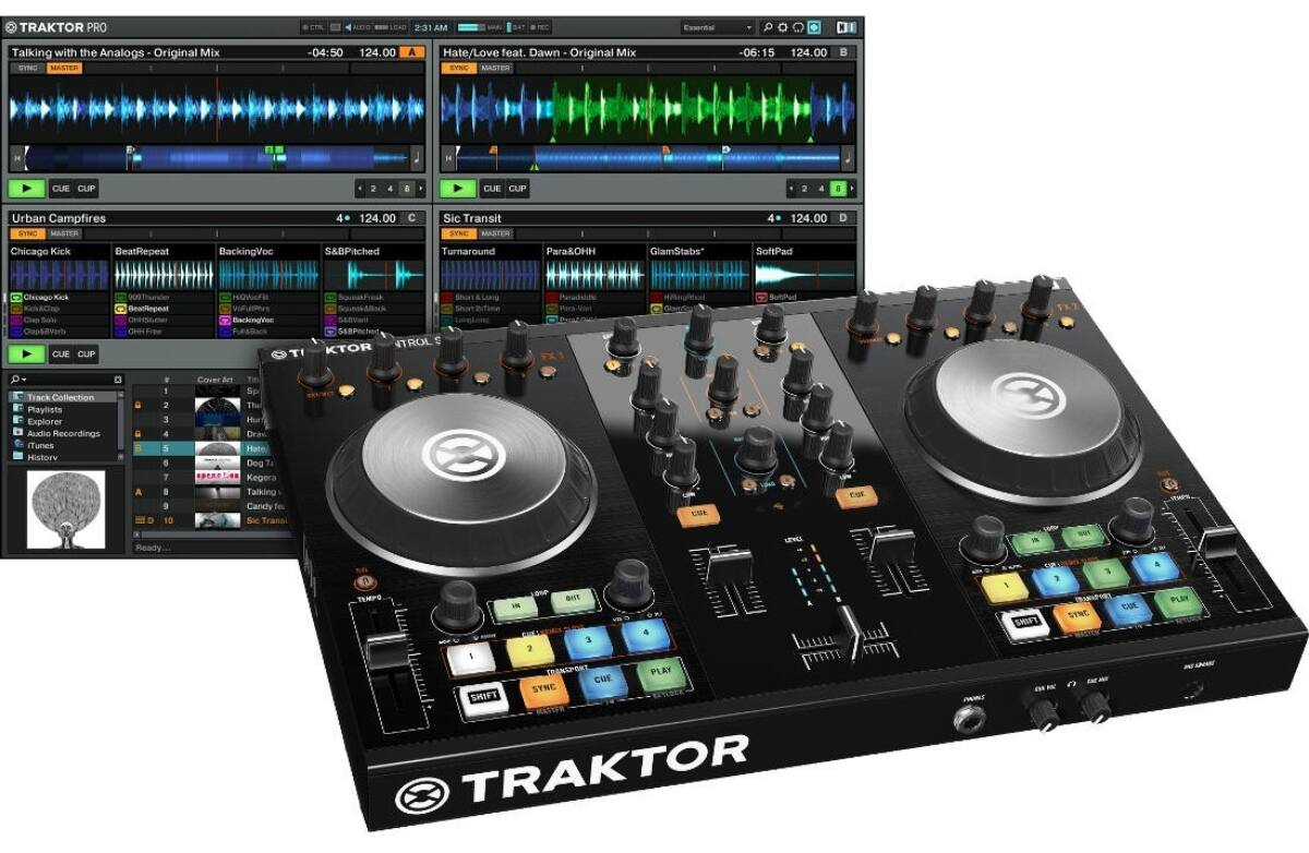 Native Instruments - Traktor Kontrol S2 MK2