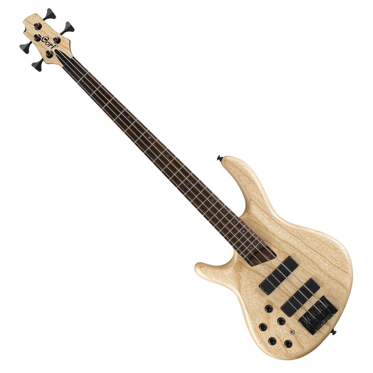 Cort - B4PlusLH-AS Artisan balkezes elektromos basszusgitár natúr