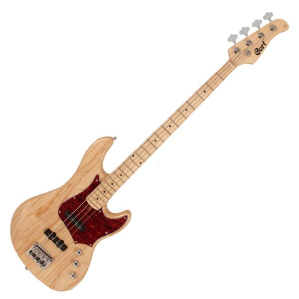 Cort - GB74J-NAT elektromos basszusgitár natúr