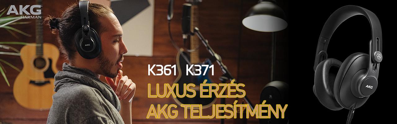 AKG K3 stúdió fejhallgató széria