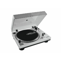 OMNITRONIC - BD-1380 USB Turntable sil