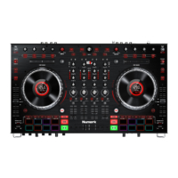 Numark - NS6II 4 Csatornás DJ Kontroller