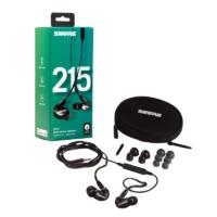 Shure - SE-215-K-UNI-EFS hangszigetelt vezetékes fülhallgató