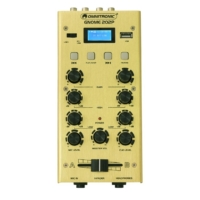 OMNITRONIC - GNOME-202P Mini Mixer gold