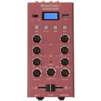 OMNITRONIC - GNOME-202P Mini Mixer red