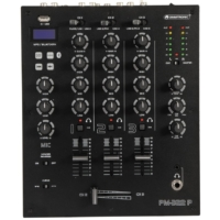 OMNITRONIC - PM-322P 3-Channel DJ Mixer with Bluetooth & USB Player