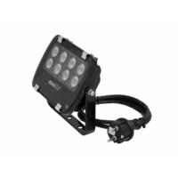 EUROLITE - LED IP FL-8 green 60°