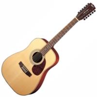 Cort - Earth70-12-OP 12 húros akusztikus gitár ajándék hangoló