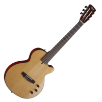 Cort - Sunset Nylectric elektro-klasszikus gitár natúr ajándék félkemény tok