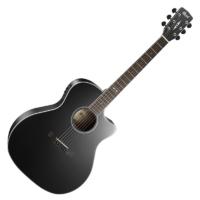 Cort - GA5F-BK Akusztikus gitár elektronikával fekete ajándék félkemény tok