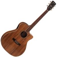Cort - GA-DAO-NAT akusztikus gitár elektronikával natúr ajándék puhatok