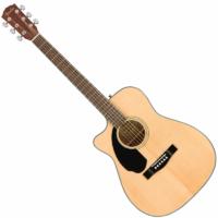 Fender - CC-60SCE NAT balkezes elektroakusztikus gitár ajándék puhatok