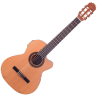JM Forest - Student CT EQ elektroklasszikus gitár ajándék félkemény tok