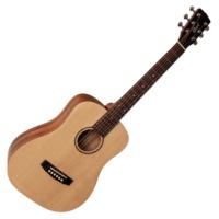 Cort - AD Mini OP - 3/4-es akusztikus gitár puha tokkal matt natúr ajándék hangoló