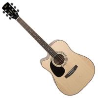Cort - AD880CE Balkezes akusztikus gitár elektronikával natúr