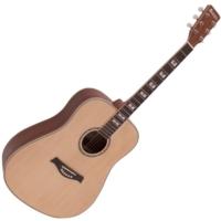 Dimavery - STW-40 Western gitár natúr ajándék puhatok
