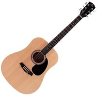 Prodipe - SD20 Dreadnought akusztikus gitár ajándék puhatok