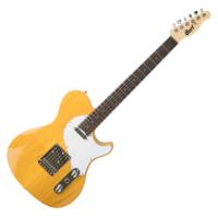 Cort - Classic TC elektromos gitár natúr ajándék félkemény tok