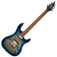 Cort - KX300-OPCB elektromos gitár kobaltkék ajándék félkemény tok