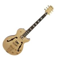 Dimavery - LP-600 elektromos gitár juhar ajándék húrtisztító