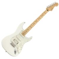 Fender - PLAYER STRATOCASTER HSS MN POLAR WHITE 6 húros elektromos gitár ajándék félkemény tok