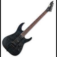 LTD - M-200FM STBLK 6 húros elektromos gitár ajándék félkemény tok