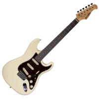 Prodipe - ST80 RA Vintage White elektromos gitár ajándék puhatok
