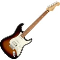 Fender - PLAYER STRATOCASTER HSS PF  3 -COLOR SUNBURST 6 húros elektromos gitár ajándék félkemény tok