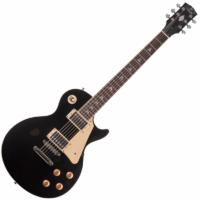 JM Forest - LP300 BK Black elektromos gitár ajándék félkemény tok