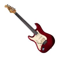 Prodipe - ST83 LH RA Candy Red Balkezes elektromos gitár ajándék puhatok