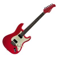 Prodipe - ST2H RA Fiesta Red 6 húros elektromos gitár ajándék puhatok