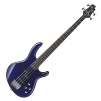 Cort - ActionPlus-BM elektromos basszusgitár metálkék ajándék puhatok