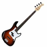 Cort - GB14PJ-2T elektromos basszusgitár sunburst, ajándék puhatok