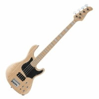 Cort - GB74-OPN elektromos basszusgitár natúr ajándék félkemény tok