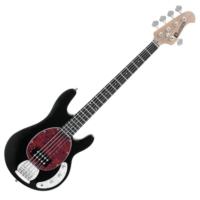 Dimavery - MM-505 E-Bass elektromos basszusgitár fekete ajándék puhatok