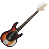 Dimavery - MM-505 E-Bass elektromos basszusgitár sunburst ajándék puhatok