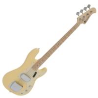 Dimavery - PB-550 E-BASS elektromos basszusgitár szőke ajándék puhatok