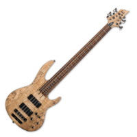 LTD - B-208SM NS 8 húros basszusgitár ajándék félkemény tok