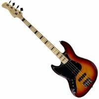 SIRE Marcus Miller - V7 Alder-4 Lefty Tobacco balkezes basszusgitár ajándék félkemény tok