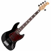 SIRE Marcus Miller - V7 Alder-5 Black 5-húros basszusgitár ajándék félkemény tok