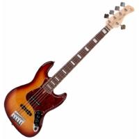 SIRE Marcus Miller - V7 Alder-5 Tobacco 5-húros basszusgitár ajándék félkemény tok