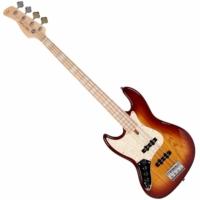 SIRE Marcus Miller - V7 Ash-4 Lefty Tobacco balkezes basszusgitár ajándék félkemény tok