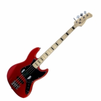 SIRE Marcus Miller - V7 Vintage Alder-4 Bright Metallic Red basszusgitár ajándék félkemény tok