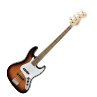 Squier - Affinity Jazz Bass Brown Sunburst 4 húros elektromos basszusgitár