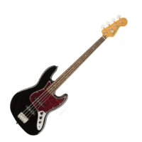 Squier - Classic Vibe 60s Jazz Bass Black 4 húros elektromos basszusgitár