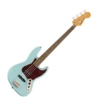 Squier - Classic Vibe 60s Jazz Bass Daphne Blue 4 húros elektromos basszusgitár
