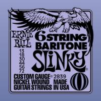 Ernie Ball - Nickel Wound Bariton Slinky 13-72 Elektromos Gitárhúr készlet
