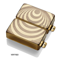 EMG - ZW Set Vertigo Gold Zakk Wylde Signature szett