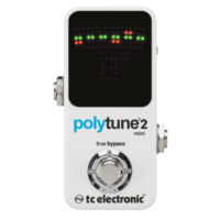 TC Electronic - PolyTune 2 Mini polifonikus hangoló pedál